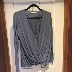 Lush (Nordstrom) cross front plunge top
